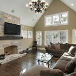 Living Room Ideas with Brick Fireplace