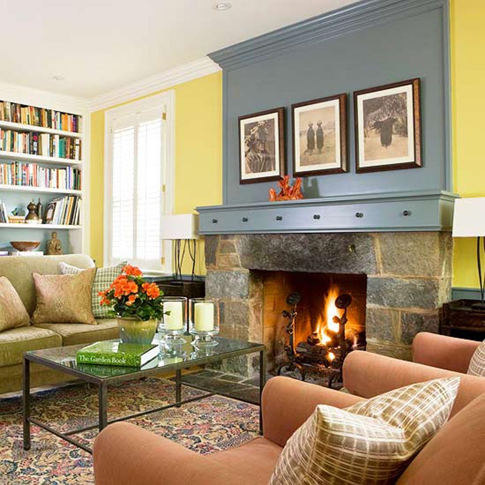Living Room With Fireplace Design Ideas Fireplace Designs