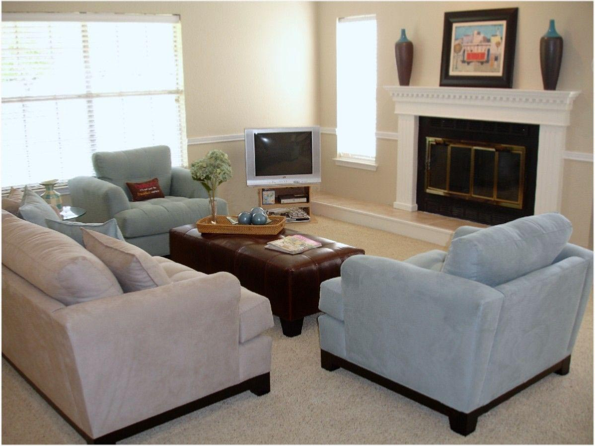 Living Room with Fireplace Layout Ideas