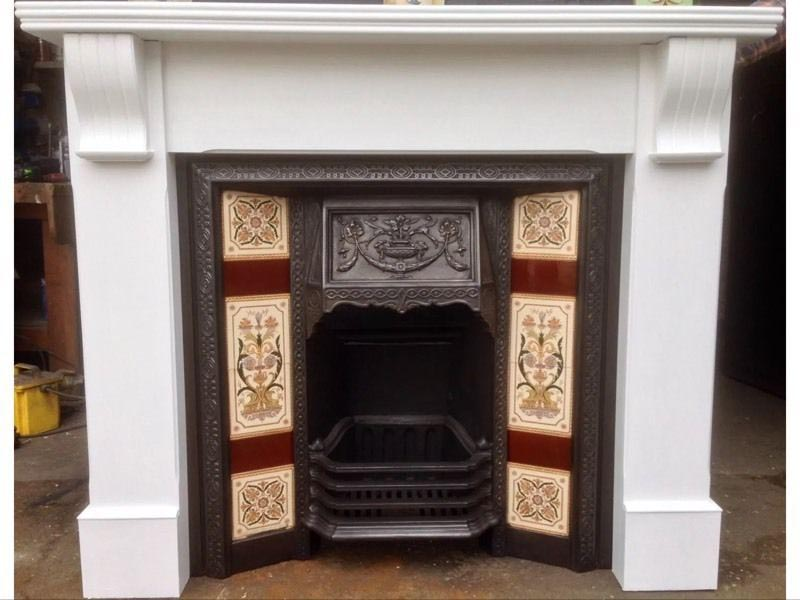 Metal Fireplace Surround Paint
