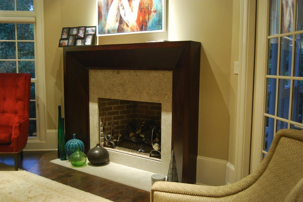 Modern fireplace mantels and surrounds fireplace designs for Contemporary mantel