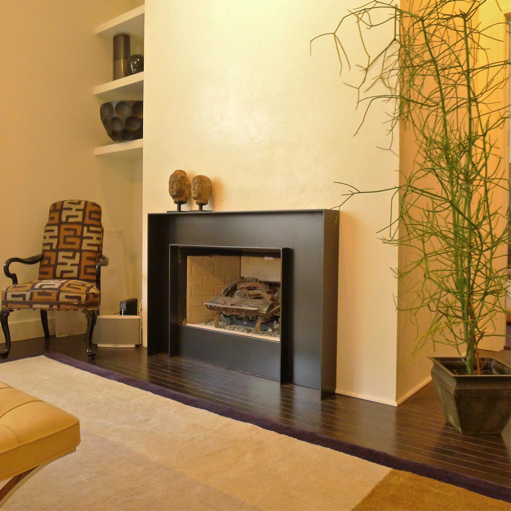 Modern fireplace surrounds design fireplace designs Fireplace surround ideas