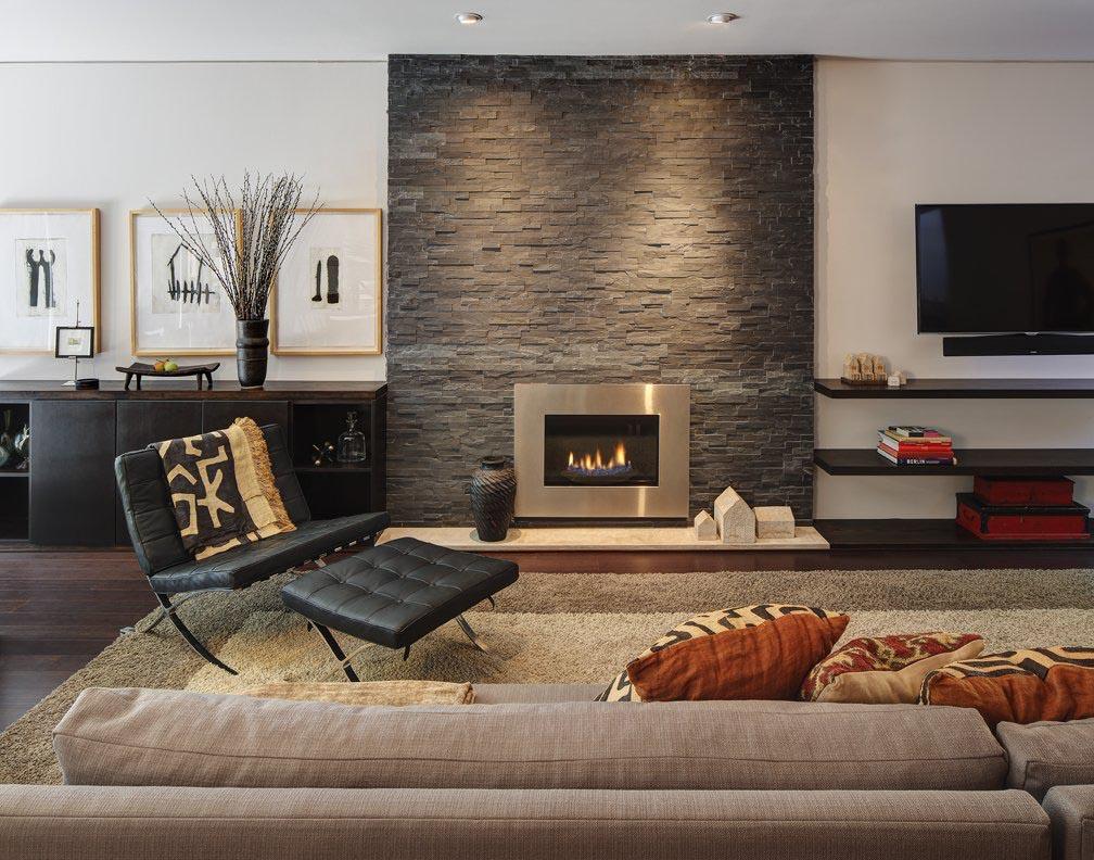 Modern stone fireplace ideas fireplace designs for Modern fireplace ideas