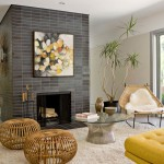 Modern Stone Fireplace Images