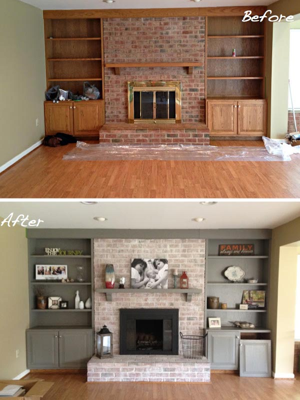 Facts About Brick Fireplace Paint : Paint Inside Fireplace Brick. Paint inside fireplace brick. fireplace decor