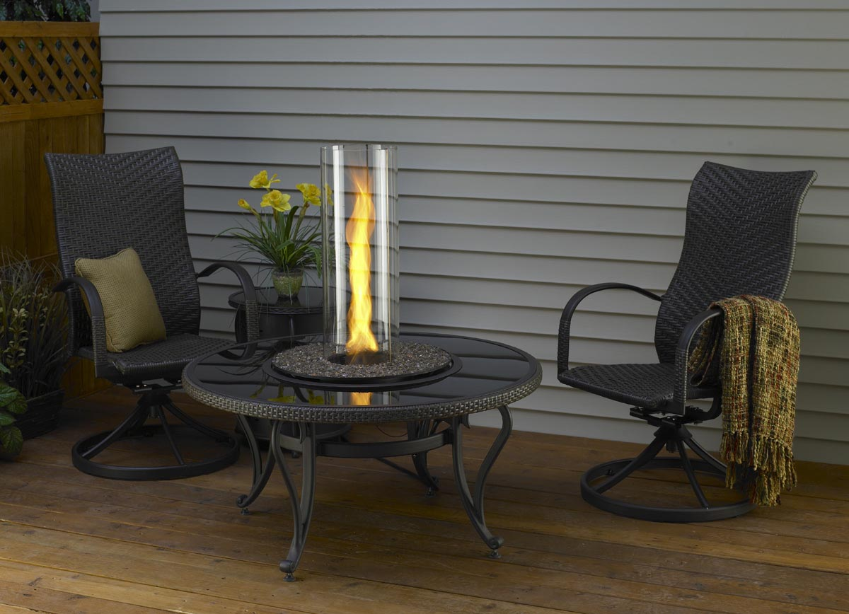 Portable Gas Fireplace Heater