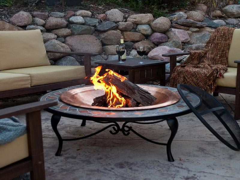 Portable Gas Fireplace Outdoor Fireplace Designs