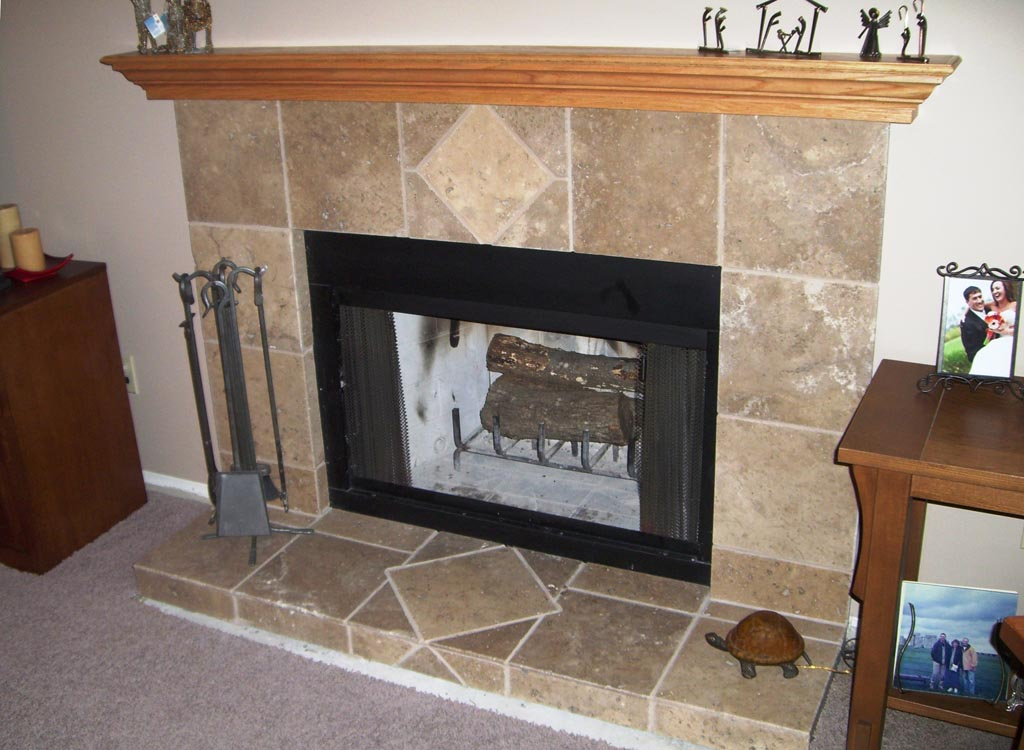 Slate Fireplace Surround And Hearth Fireplace Designs