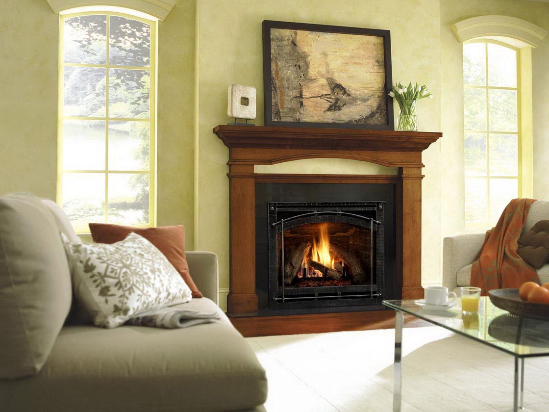 Small Fake Fireplace Heater