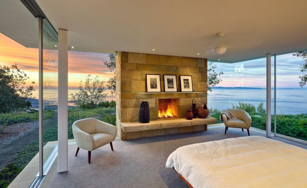 Small Gas Fireplace for Bedroom