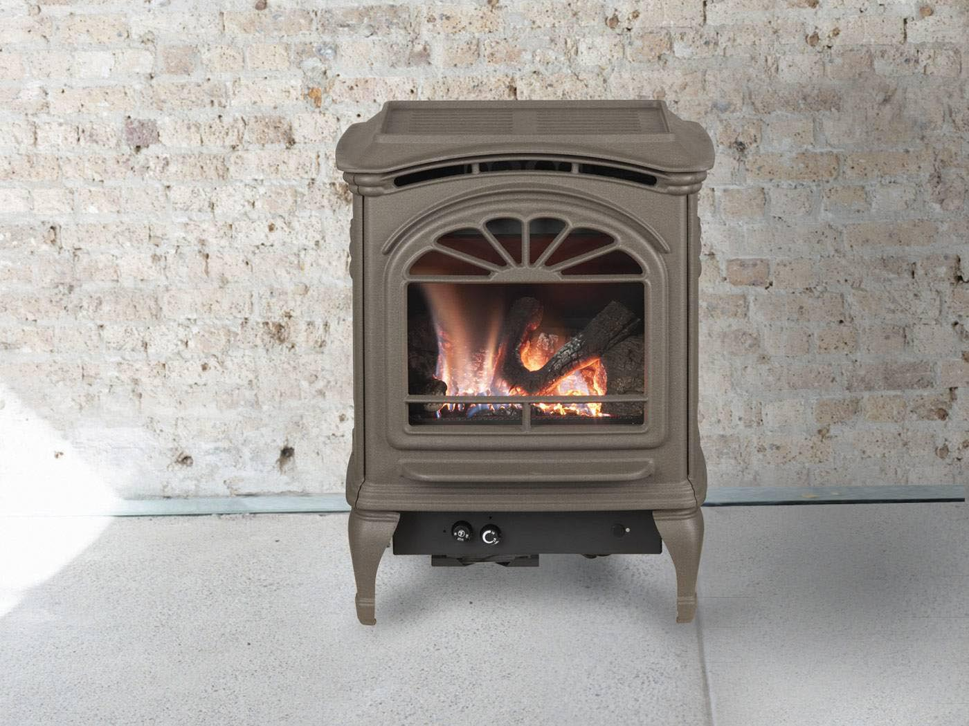 Small Gas Fireplace Stove