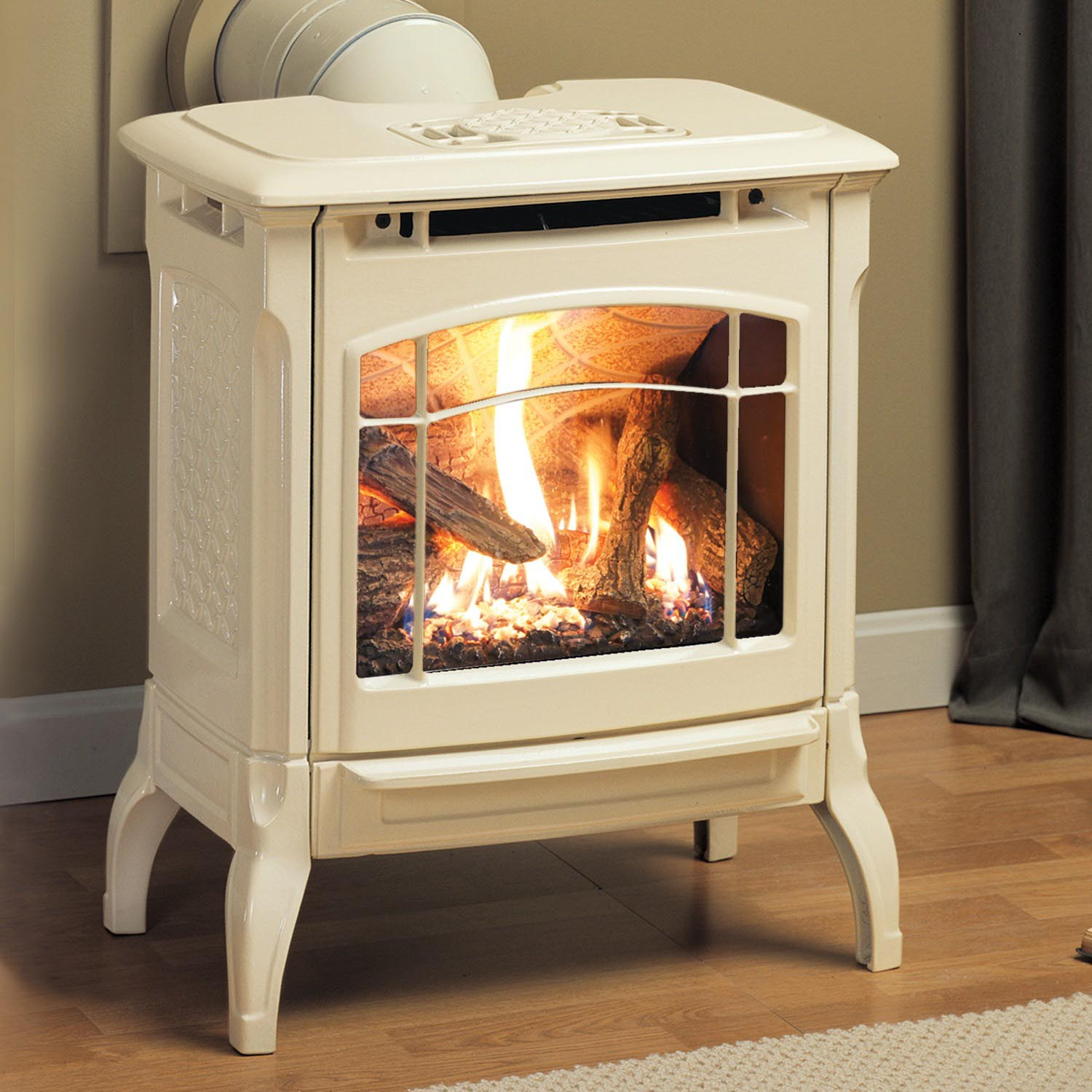 Small Gas Log Fireplace
