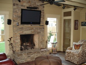Stack Stone Fireplace Pictures