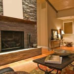 Stack Stone Fireplace Veneer