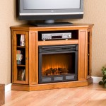 Stone Electric Fireplace TV Stand