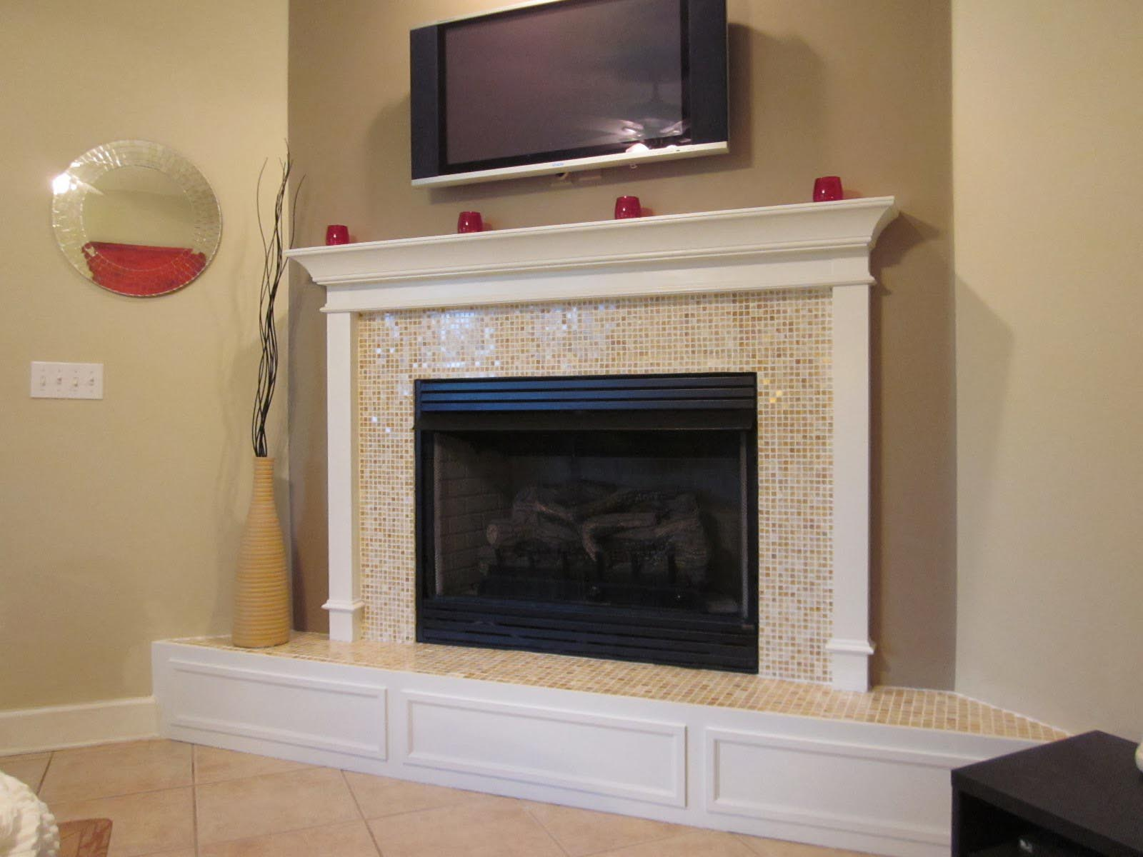 White Stone Fireplace Tips and Tricks : Stone Fireplace White Mantle. Stone fireplace white mantle. fireplace ideas