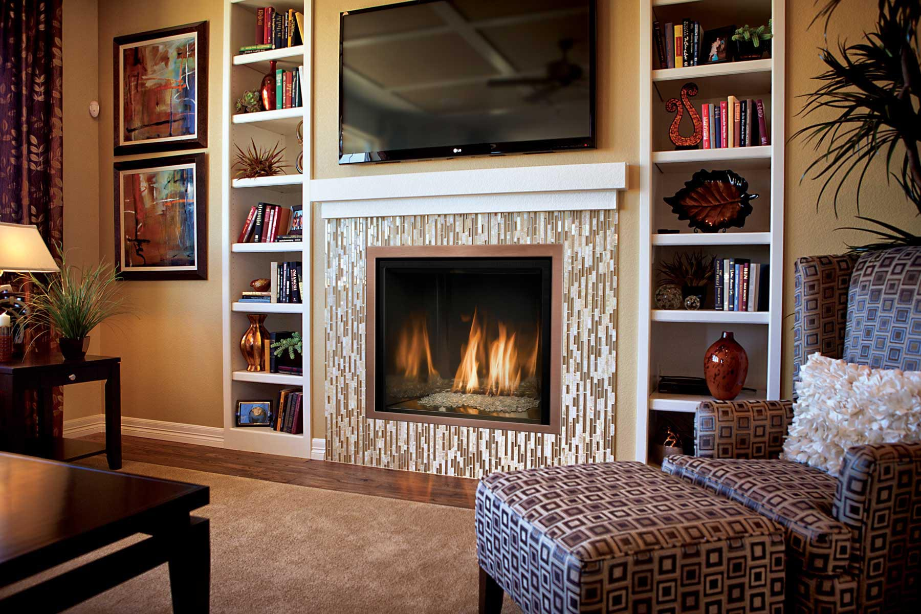 Stone Hearth Fireplace Ideas