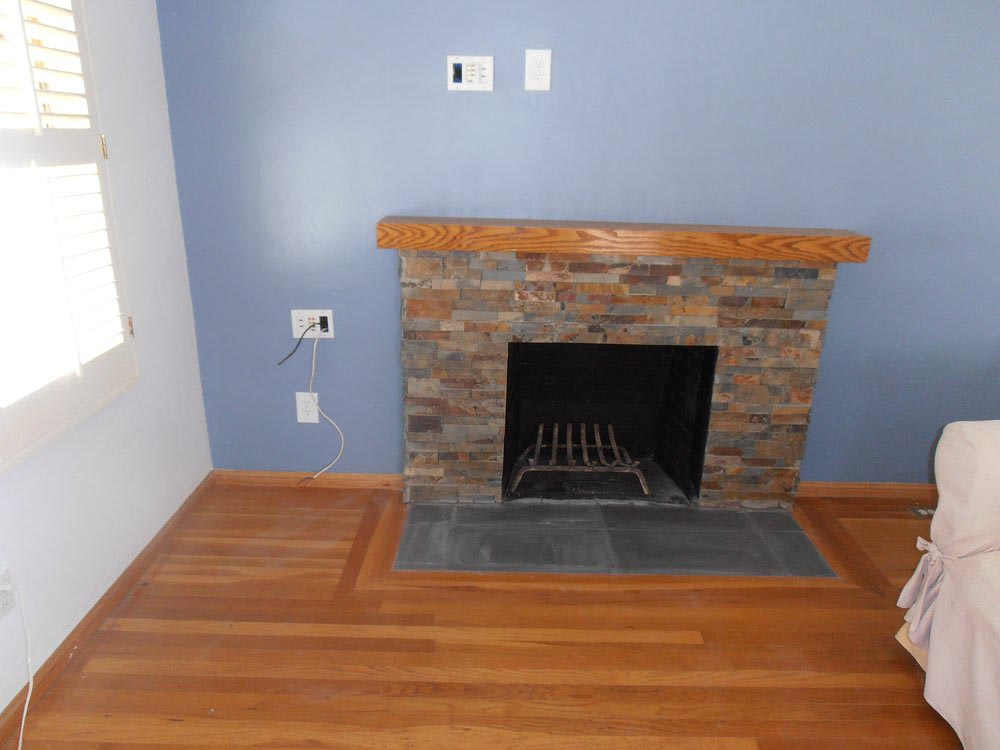 Stone Tiles for Fireplace Hearth
