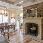 Stone Veneer Fireplace Surround