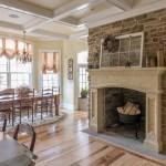 Stone Veneer Fireplace Surround