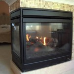 Three Sided Fireplace Insert