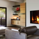 Wall Electric Fireplace Contemporary