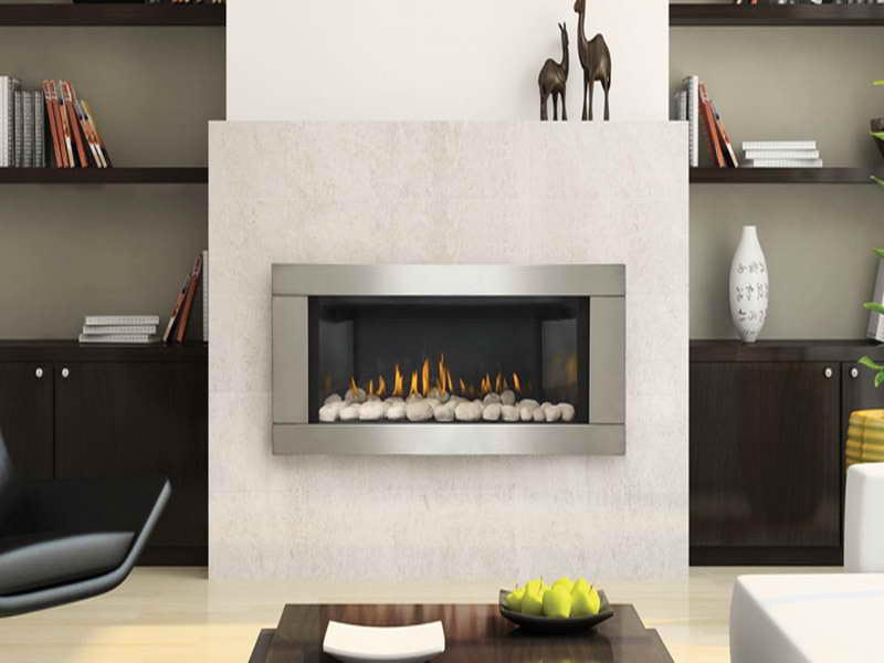 White Stone for Fireplace