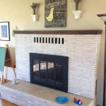 Whitewash Brick Fireplace Pictures